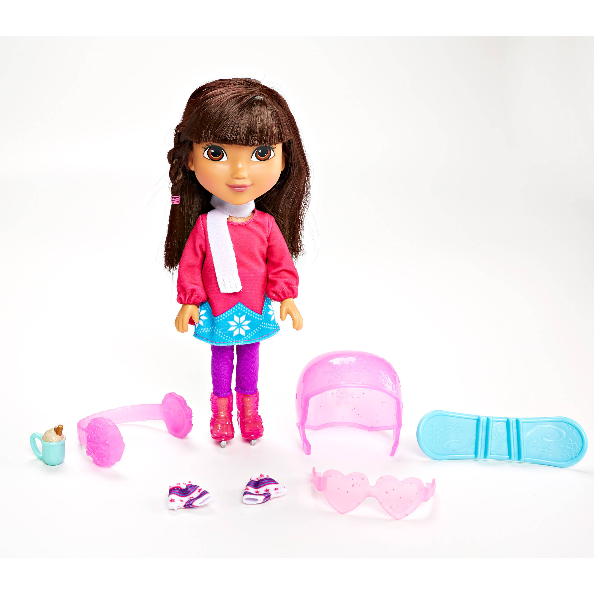 Fisher-Price Nickelodeon Dora and Friends Dora Loves Winter ...
