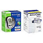Accu-Chek Aviva Diabetes Monitoring Kit Combo (Meter Kit and Aviva Test Strips 50ct.)