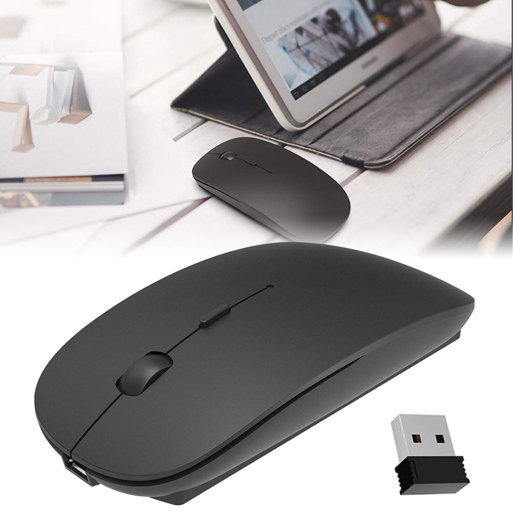 2.4G Wireless Mouse, Ultra-Thin Noiseless DPI Wireless Mouse for Notebook, PC, Mac, Laptop, Computer