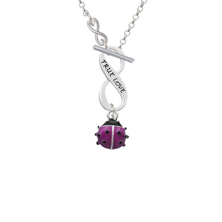Mini Hot Purple Ladybug - To Infinity True Love Toggle -