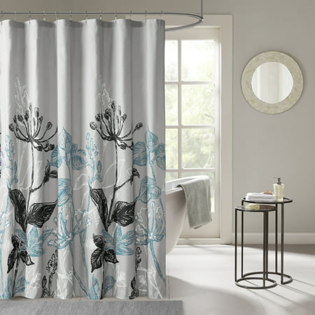 Home Essence Kendall Printed Floral Shower Curtain