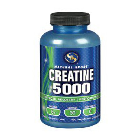 Créatine 5000 STS (Supplement Training Systems) 180 Caps