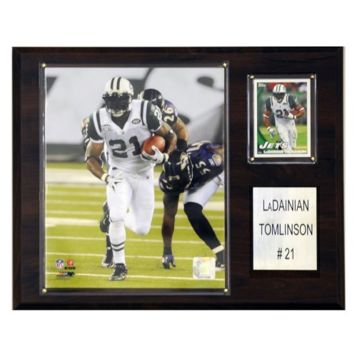 "NFL 12""x15"" LaDainian Tomlinson New York Jets Player Plaque"