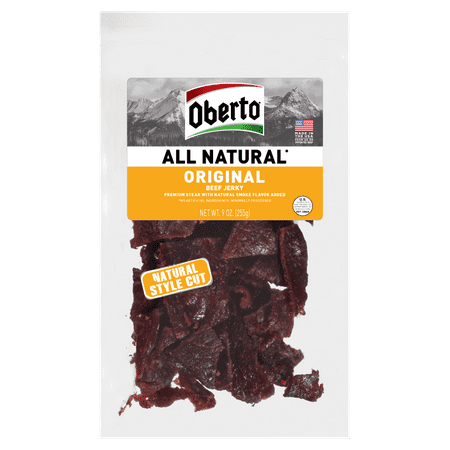 Oberto All Natural Style Cut Original Beef Jerky, 9 Oz.