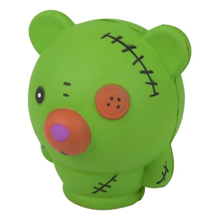 Halloween Monster Green Bear Squishie Toy Party Favor - Crazy Bear Halloween Party