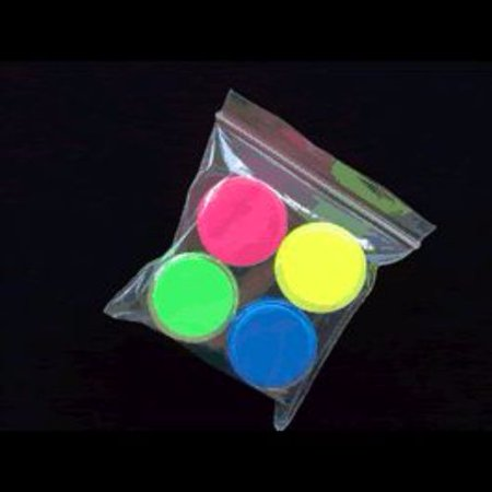 Glow In The Dark Body Paint Pack of 4 - Glow In The Dark Body Paint Ideas