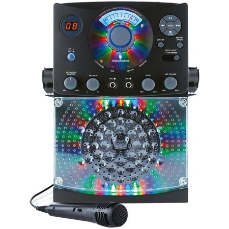 The Singing Machine SML385BTBK Bluetooth CD+G Karaoke System (Best Karaoke System For Home Use)