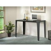 Bush Farrago Swept Desk, Classic Black / Black