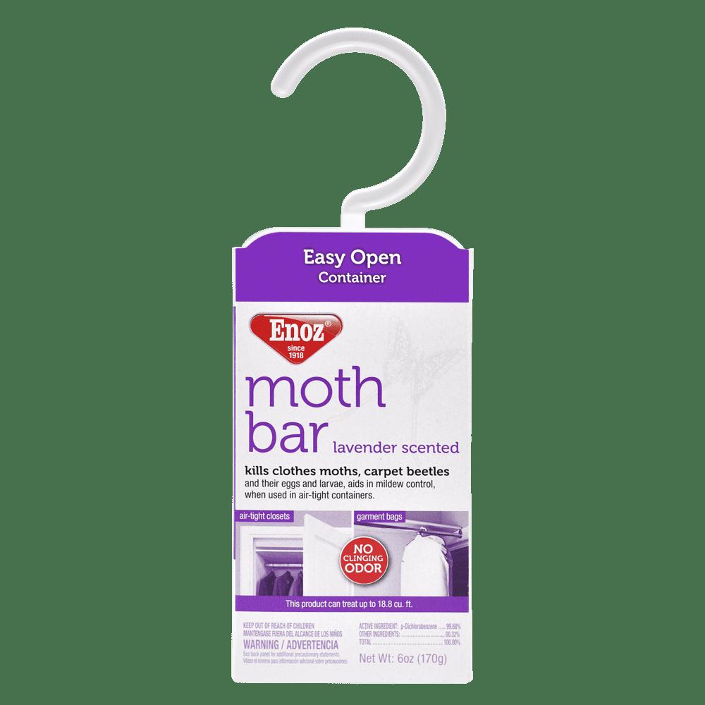 Enoz Moth Bar Lavender Scented, 6.0 OZ