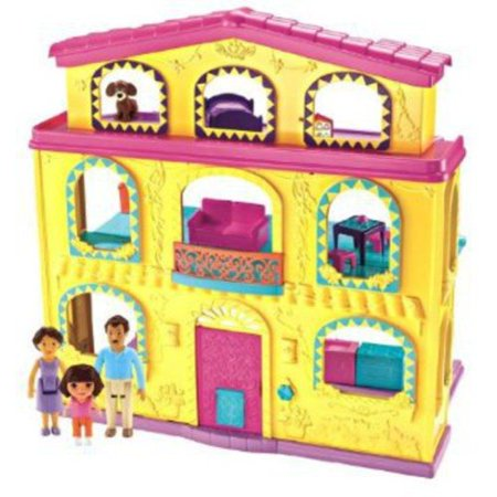 Fisher Price Playtime Together Dora And Me Dollhouse