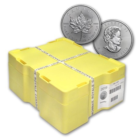 2019 Canada 500-Coin Silver Maple Leaf Monster Box (Sealed) 500 Coin Monster Box