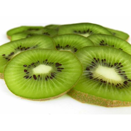 - Canvas Print Green Kiwi Fruit Slices Juicy Fresh Sweet Stretched Canvas 10 x 14