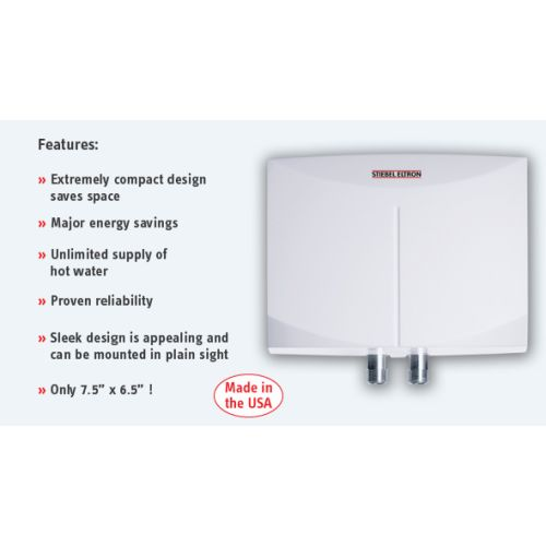Stiebel Eltron Mini 2-1 Tankless Electric Water Heater