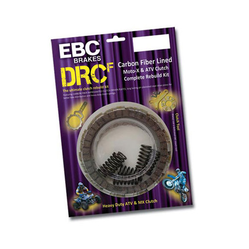 EBC DRCF Carbon Fiber Complete Clutch Kit for Honda TRX45...