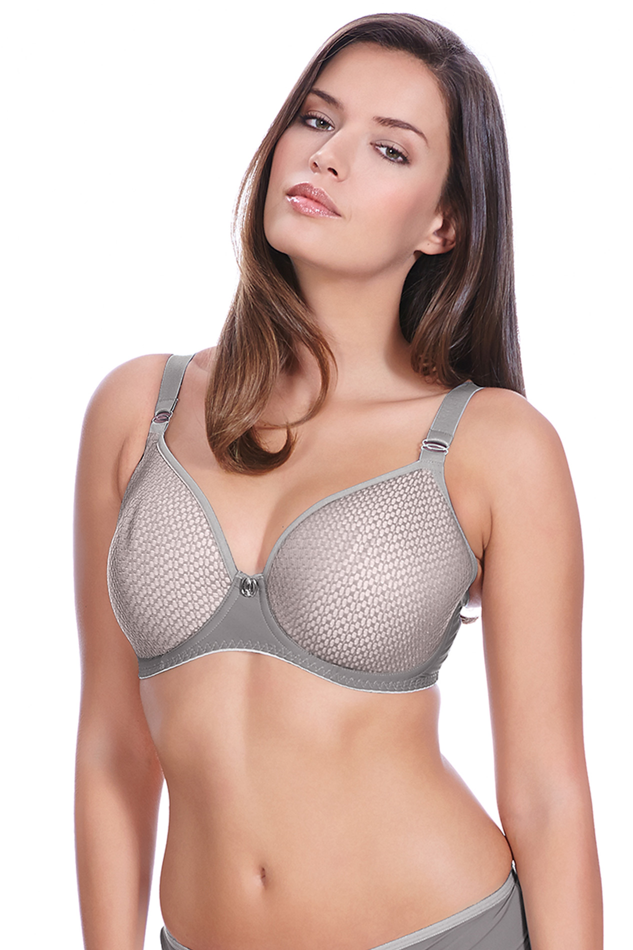 9795f7b6f3 Freya - Freya Womens Muse Underwire Spacer Moulded Bra Dove 36DD -  Walmart.com