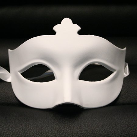 DIY Blank Paper Mache Venetian Masquerade - Halloween Mask Paper Mache