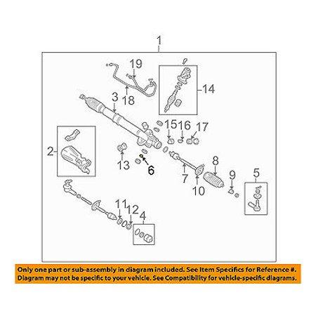 CHRYSLER OEM Steering Gear-Outer Tie Rod Lock Nut -