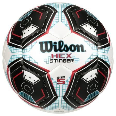 Wilson® Hex Stinger Size 5 Soccer Ball - Walmart.com b4a7b889d