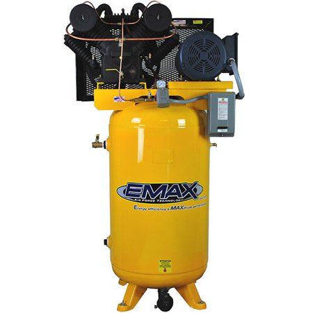 EMAX EP07V080V3 80 Gallon 7.5 HP 2-Stage 3-Phase Vertical Air