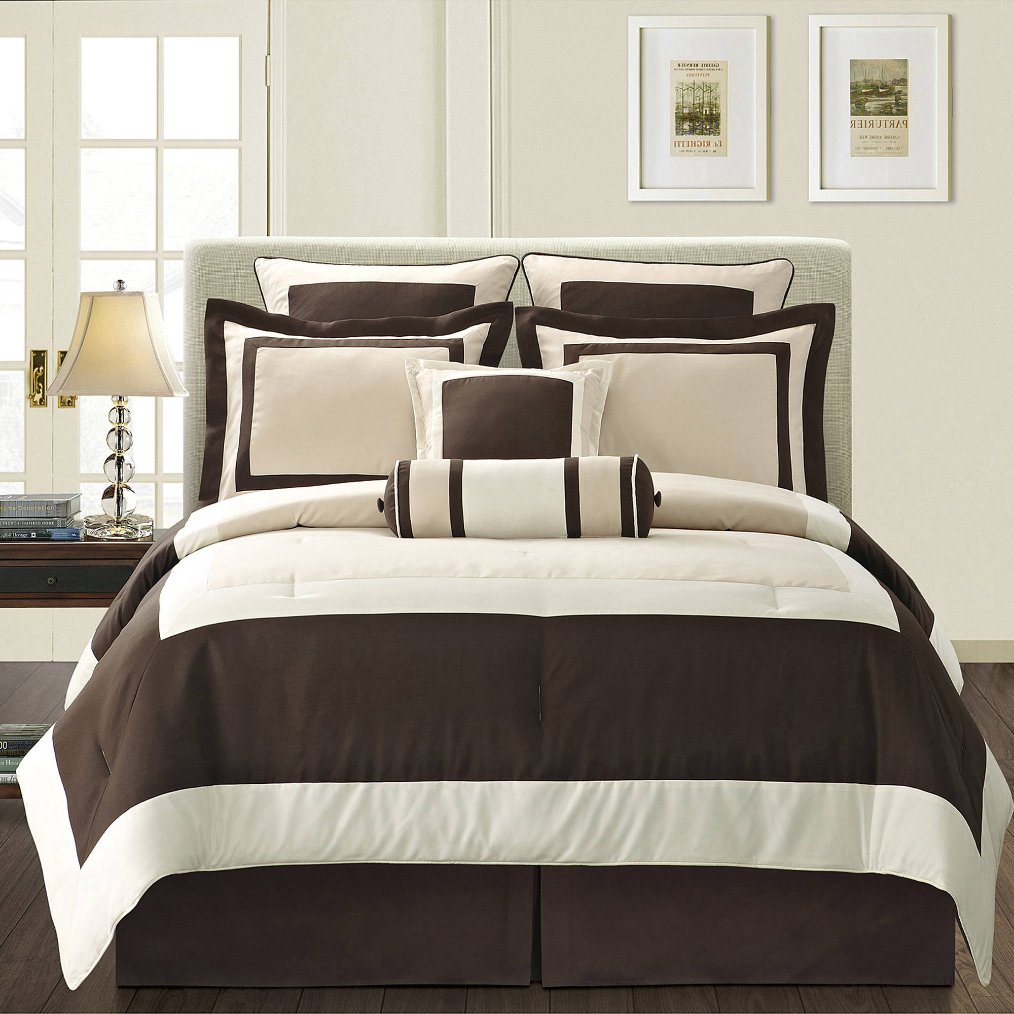 Fashion Street Gramercy 8-Piece Bedding Comforter Set