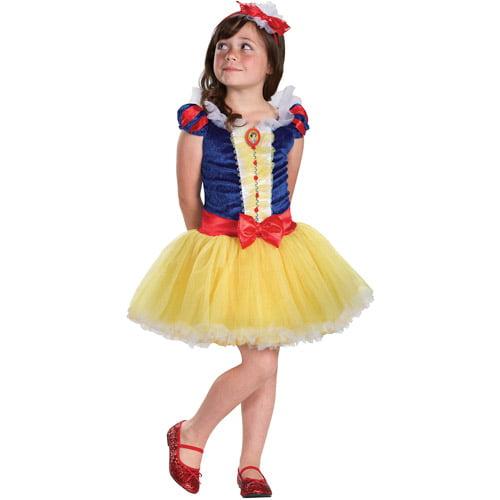 Disney Princess Snow White Tutu Prestige Child Halloween Costume
