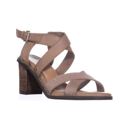 Dr. Scholl's Precise Strappy Heeled Sandals, Putty - image 6 de 6