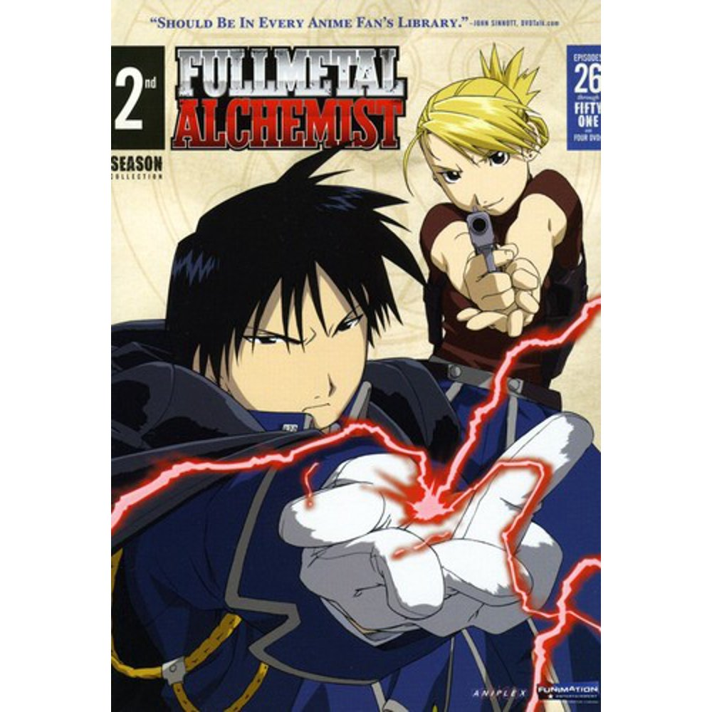 Fullmetal Alchemist: Season 2 - VC - Walmart.com - Walmart.com
