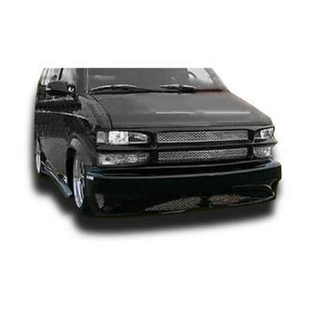 KBD Urethane 37-2003 Hollywood Style Polyurethane Full Body Kit for 1995-2004 Chevrolet Astro & GMC Safari Van, 4 Piece 1985 Gmc Safari A/c