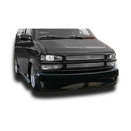 KBD Urethane 37-2003 Hollywood Style Polyurethane Full Body Kit for 1995-2004 Chevrolet Astro & GMC Safari Van, 4 Piece