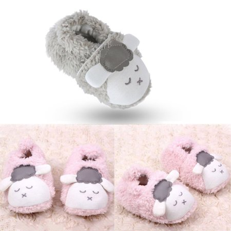 Kacakid Cute Baby Boy Girl Soft Comfy Shoes Winter Warm Bootie Slipper Crib - Baby Bunny Slippers