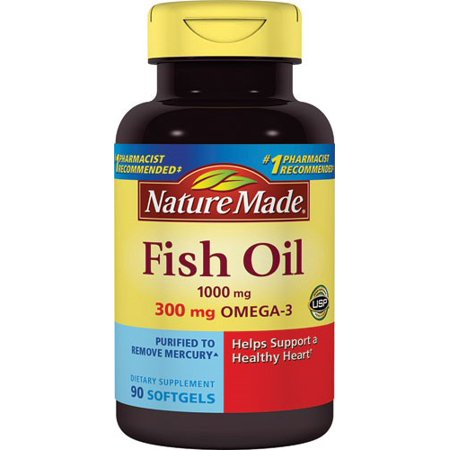 Nature Made Fish Oil 1200mg + Vitamin D 1000 IU Liquid Softgels - 90 CT