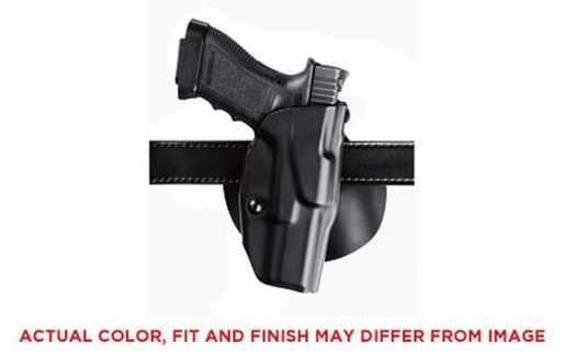 Safariland Model 6378 ALS Paddle Holster, Fits Glock 17 22, Left Hand, Plain Black Finish 6378-83-412 by SAFARILAND