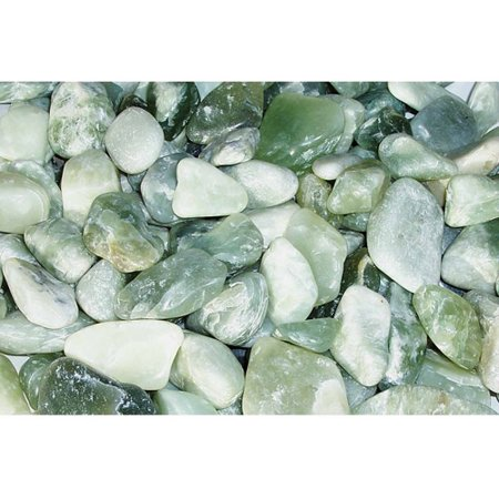 Exotic Pebbles & Aggregates Jade Polished Pebbles, 5