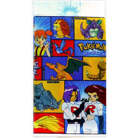 Pokemon Plastic Table Cover (1ct) - Pokemon Table