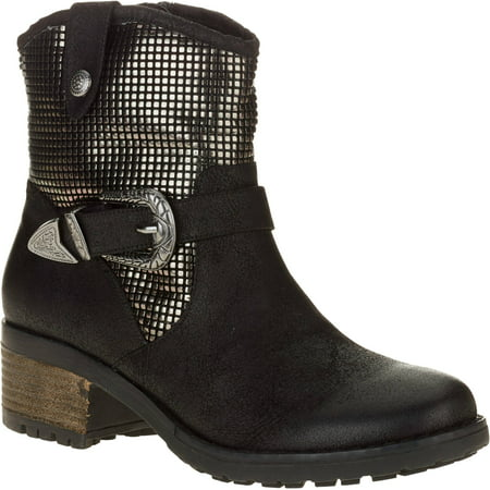 Mo Mo Womens Ringer Sequin Western Boot