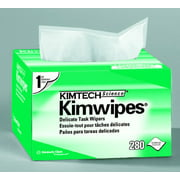 Kimtech Science Kimwipes Task Wipe Light Duty Disposable 4.4 X 8.4 Inch - Box of 280, 2 Pack
