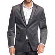 INC NEW Charcoal Gray Velvet Herringbone Men Small S Two Button Blazer $129 #684