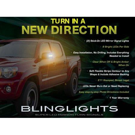 Toyota Tacoma LED Side View Mirror Turn Signal Lights Signaler Lamp - Signal Lamp Set