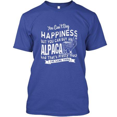 Happiness and Alpaca Hanes Tagless Tee T-Shirt