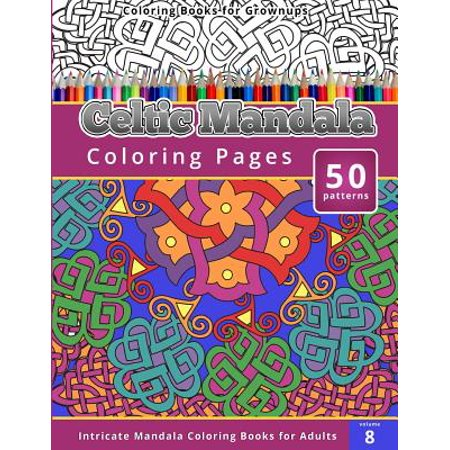 Celtic Mandala Coloring Books for Grownups - Mandalas Coloring