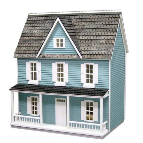 Real Good Toys Farmhouse Dollhouse Kit - 1/2 Inch Scale
