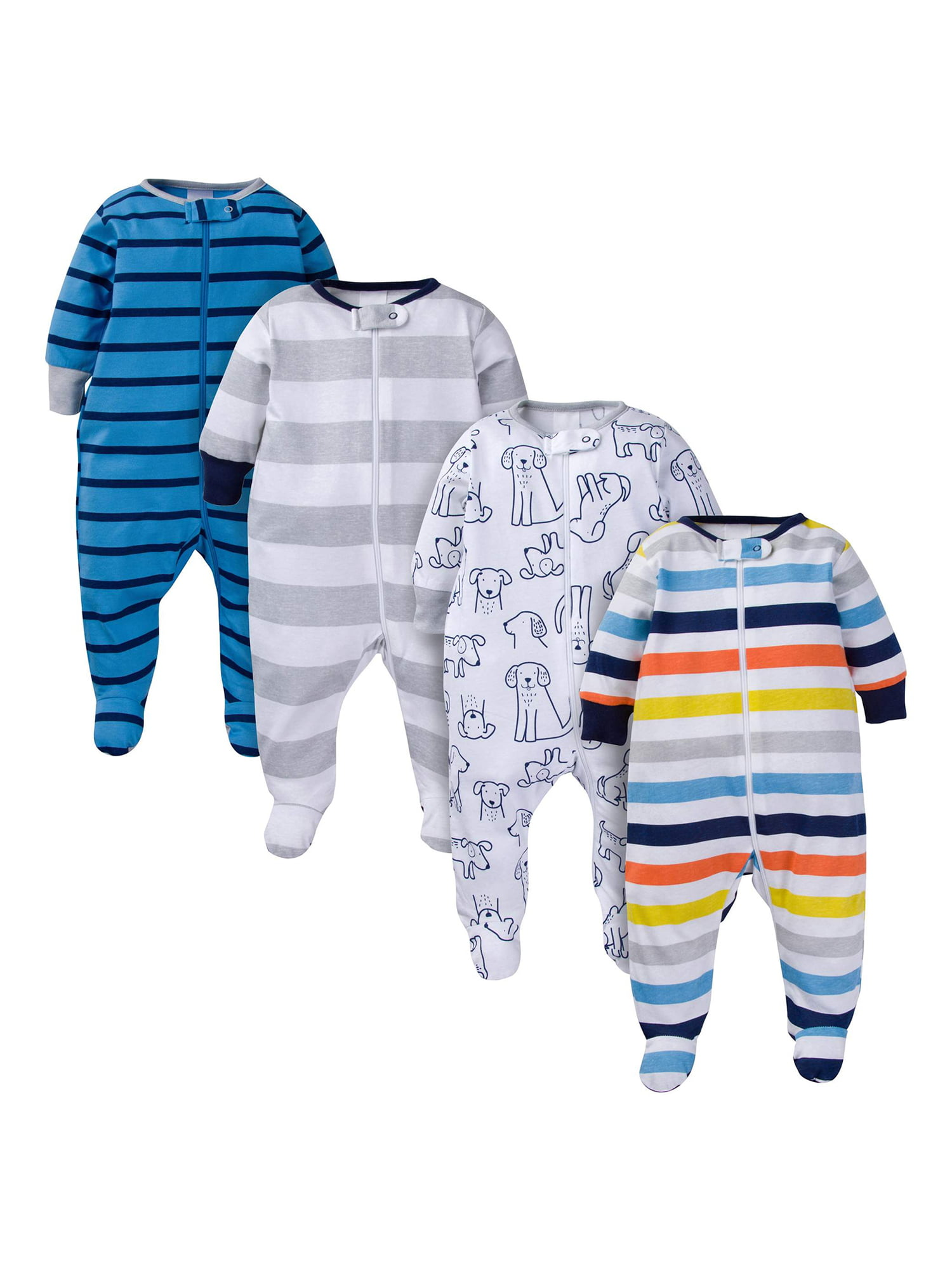 Onesies Brand Baby Boys 12-Pair Cuffed Bootie Sock