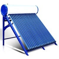 150 Liter Standard Passive Duda Solar Water Heater Attached Pressurized Tank Evacuated Tubes Hot