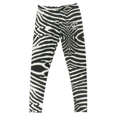 Adidas Womens Zebra Print Leggings Black - Walmart.com