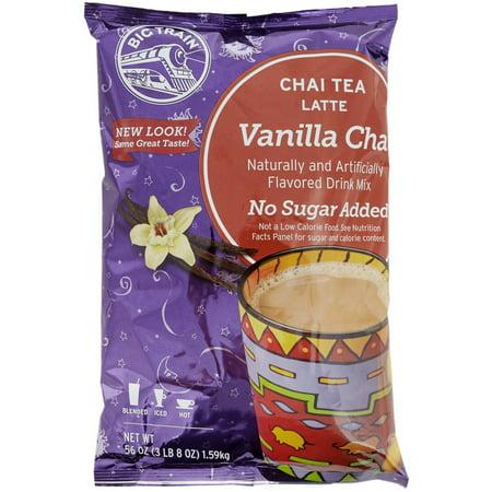 - Big Train - Chai Tea - No Sugar Added Vanilla