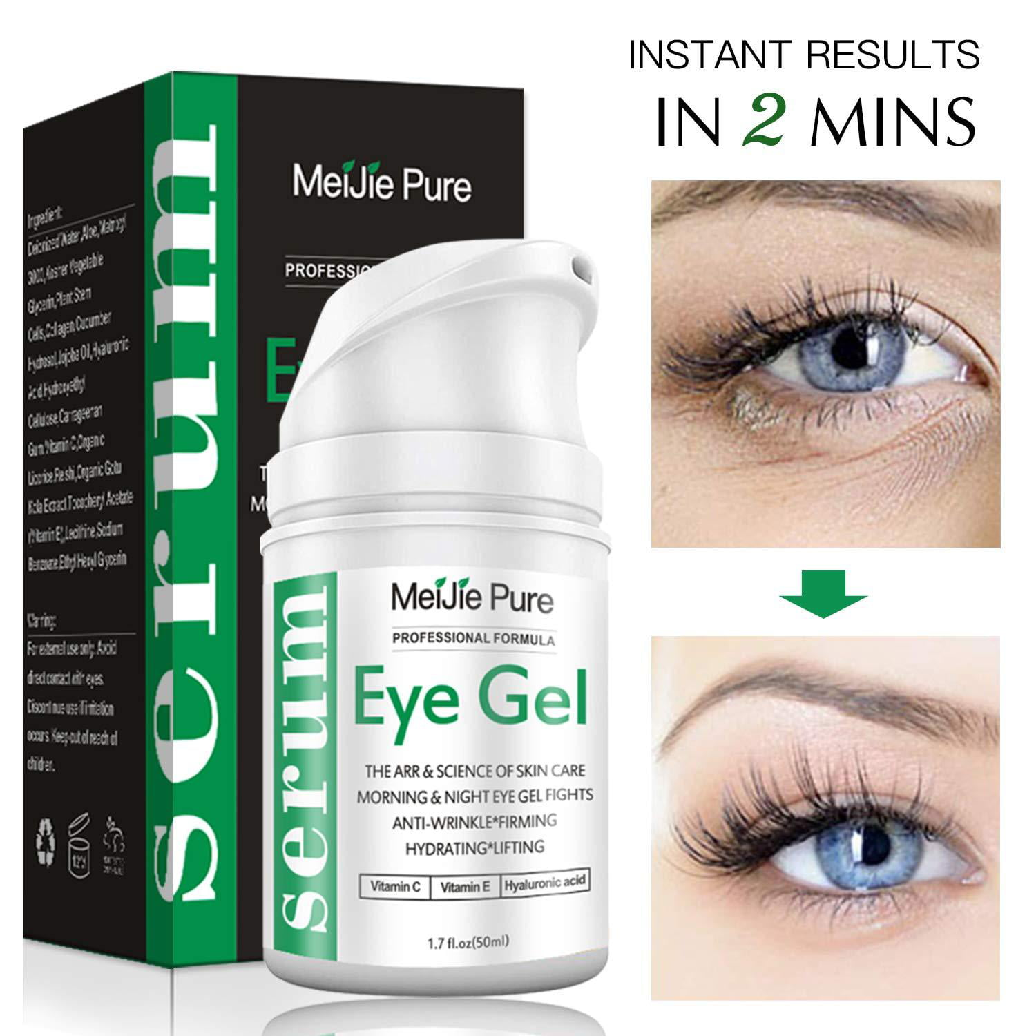 Eye Gel,Under Eye Cream,2019 Anti-Aging Eye Gel for ...