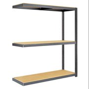 EDSAL BSRR-260 Boltless Shelving Add-On,48x24,3 Shelf G6606801