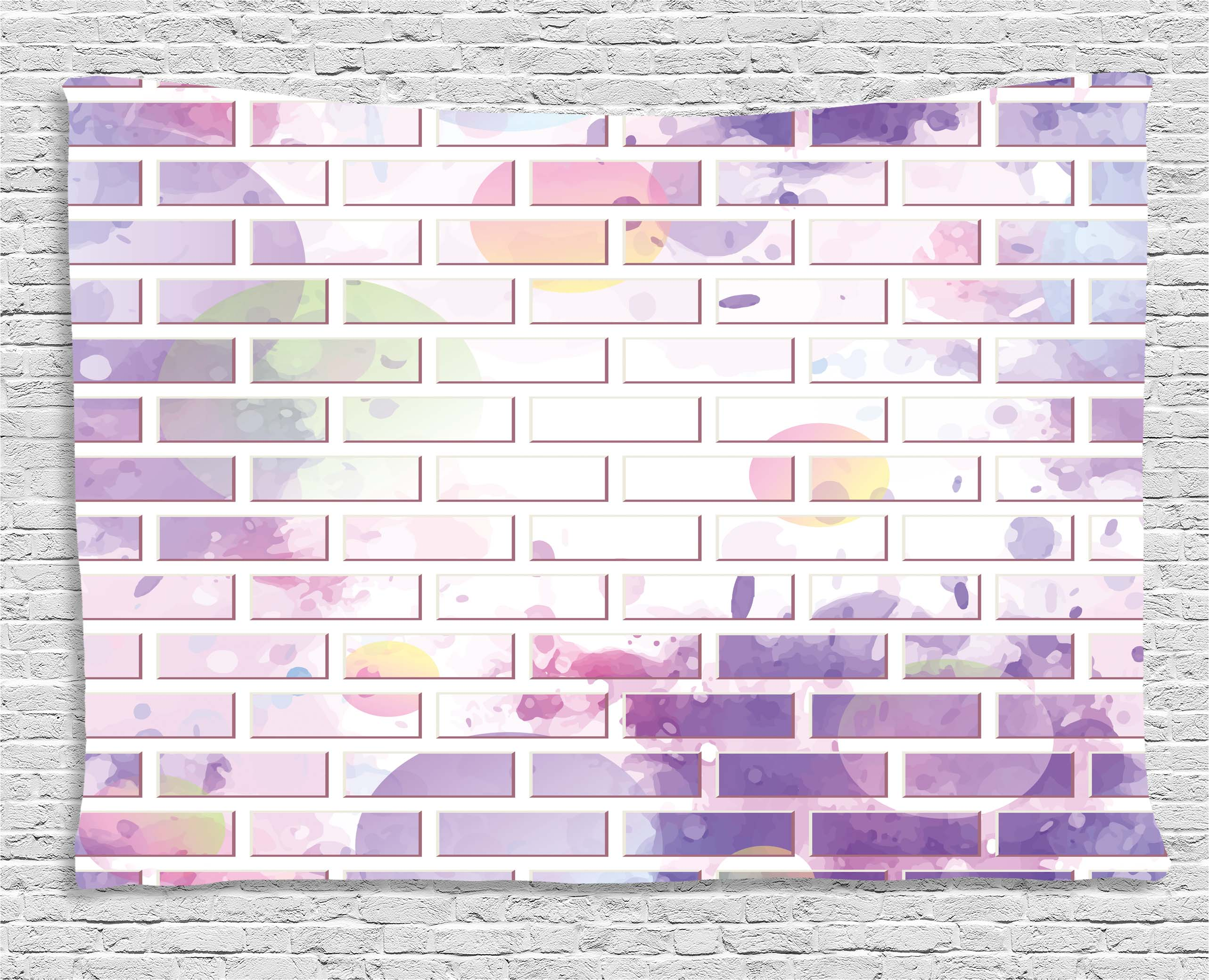 Brick Vector Picture Brick Veneers: Wall Decor Tapestry, Vector Illustration Of Graffiti Brick