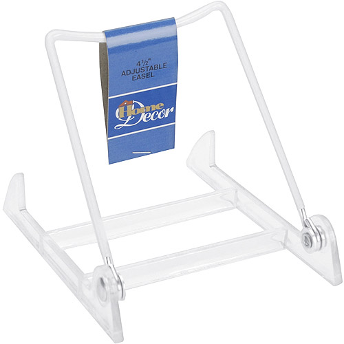 "Darice Adjustable Easel, 4.5"", White"