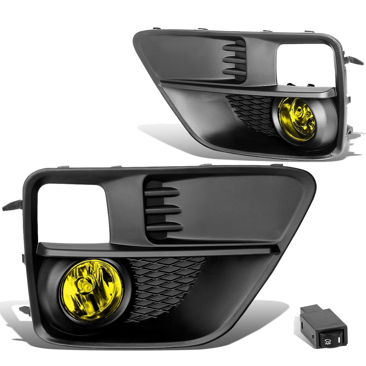 For 15-17 Subaru WRX / STI Pair of Bumper Driving Fog Lights + Wiring + Switch (Amber Lens) 16